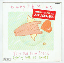 "EURYTHMICS Vinyl 45T 7"" SP THERE MUST BE AN ANGEL - GROWN UP GIRLS - RCA 40247"