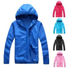 Men Women Waterproof Windproof Jacket Outdoor Sports Bicycle Fishing Rain Coat#R