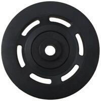 95mm Black Bearing Pulley Wheel Cable Gym Equipment Part Wearproof U8L3