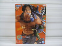 """""""From Japan"""" One Piece Mania Produce Figure 【ACE】 BANPRESTO In Stock  #05A"""