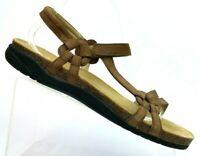 Teva Ventura Cork Brown Waterproof Leather Sports Hiking Sandals 6389 Women's 11