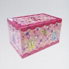 Sparkly Pink Ballerina Ballet Dance Jewellery Set Music Box