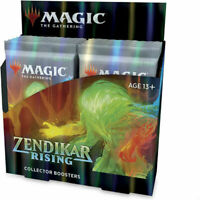 Zendikar RIsing Collector Booster Box Sealed Magic the Gathering