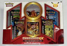 1x Sellado charizard ex rojo-azul 20th Caja de Colección Aniversario tarjetas de Pokemon