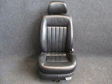 W8 LEDER Beifahrersitz VW Passat 3BG W8 Sitz Ausstattung schwarz