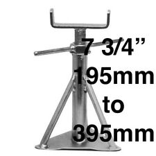 "Static Caravan Axle Stands X 8, 195mm - 325mm or 7"" 3/4 x 12"" 1/2 Siting Support"