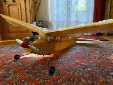 Modellflugzeug Tele Pilot, RC Flugzeug mit Glühkerzenmotor, München