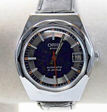 Vintage Oris Star Men's Watch, Swiss Made, Automatic, 21 Jewel, 36mm