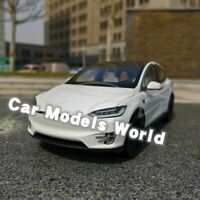 Car Model for Model X (White) 1:18 + SMALL GIFT!!!!!!!