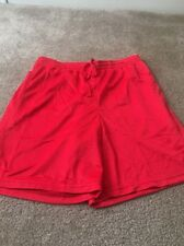 Starter Mens Lined Athletic Shorts Sz M 32-34 Red Clothes