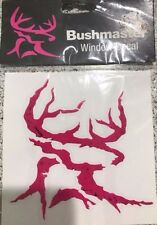 5 Bushmaster Logo Window Decal/Stickers Pink/white-New in Package