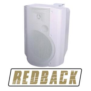 165mm 50W 2 Way White Active Speaker Pair