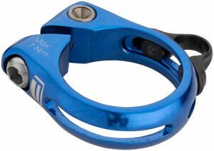 Promax DP-1 Dropper Seat Post Clamp 34.9mm Blue