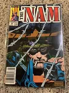 The 'Nam #30 FN 1989 Marvel Comic Newsstand Edition