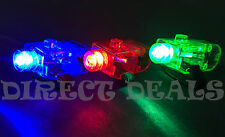 200 PC LIGHT UP LASER FINGER MIX RGB LED RING RAVE PARTY FAVORS GLOW BEAMS TORCH