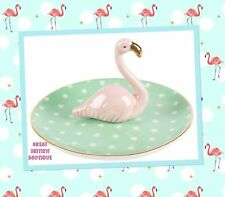 Wacky Fabulous Flamingo Jewellery Holder Ring Dish - Sass And Belle - Perfect...