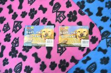 Soft Pet Fleece/Blanket for Dog, Cat and other Pets BLUE!