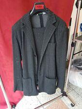 100 % Original Emporio Armani Herren Anzug Größe XL Nadelstreifen Designer Anzug
