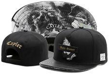 HOT Men Cayler Sons Cap Baseball Snapback Hip hop Adjustable Bboy Black hat 270#