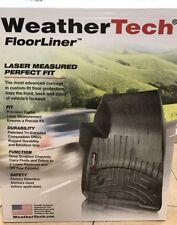 WeatherTech FloorLiner for Chevrolet Corvette 1997-2004 1st Row Black