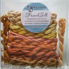 Kreinik Limited Edition French Silk Embroidery Floss Assortment - Yellow