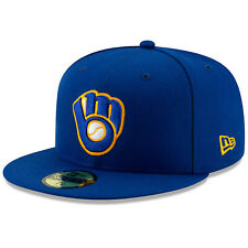 Milwaukee Brewers New Era Alternate Authentic On-Field 59FIFTY Fitted Hat-Royal