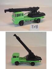 Majorette 1/100 DAF 2600 LKW Elevateur Kranwagen hellgrün/schwarz #718