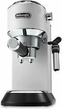 De'Longhi Dedicated Coffee Maker Of Pump Stainless Steel Ground Or Pods Wht
