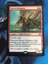 Warren Instigator - Duel Deck Foil - Mtg Magic Card