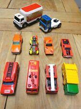 Matchbox  CAR BUNDLE Superkings K3 BEDFORD. FORT KNOX.COMMAND.El Camino
