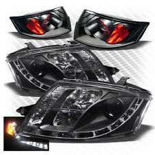 For 99-06 Audi TT DRL LED Projector Headlights+Tail Head Lights Replacement Set