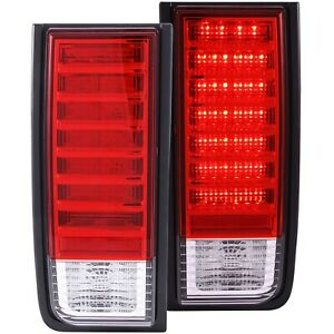 ANZO USA 311068 Tail Light Assembly For 2003-2009 Hummer H2