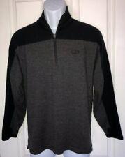 ICEBREAKER Sport Pure 100% Merino Wool Half Zip Thumb Holes Sweater Med Ex Cond!