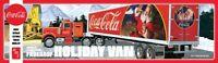 AMT Fruehauf Holiday Hauler Semi Trailer Coca Cola Coke 1:25 model kit new 1165