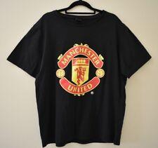 Black Manchester United Men's T-Shirt Size Xl Soccer Football Premier League