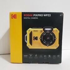 Kodak PIXPRO WPZ2 Digital Camera Yellow Waterproof Underwater 16MP New 4X Zoom