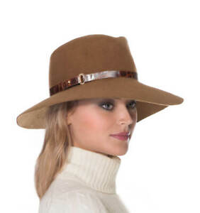 Authentic NWT Eric Javits Designer NYC Women's Hat - Fanny in Taupe