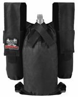 Maddog  2+1 Paintball Harness Black