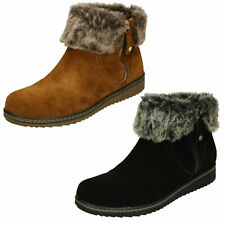 Ladies Hush Puppies Ankle Boots - Penny