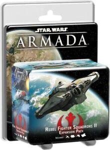 Rebel Fighter Squadrons II Expansion Pack Star Wars Armada FFG Asmodee NIB