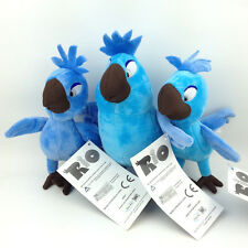 3X Rio the Movie Carla Bia Tiago Plush Toy Babies Blu Jewel Birds Stuffed Animal