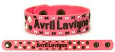 AVRIL LAVIGNE Rubber Bracelet Wristband Let Go The Best Damn Thing Pink