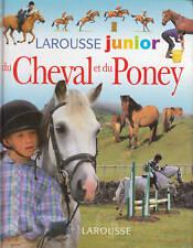 Livre larousse junior du cheval et du poney  collectif book