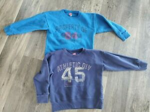 Lot of 2 Boy XS 4/5 Hanes Pull over sweatshirts
