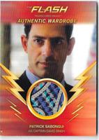 Cryptozoic Flash Season 1 Wardrobe Costume Relic Card Captain Singh M22 M-22