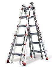 Little Giant 6 Rung Revolution XE Aluminium Multi-purpose Ladders Model 26 VGC