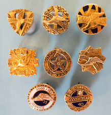 More details for goodyear badges - 8 long service awards, gold