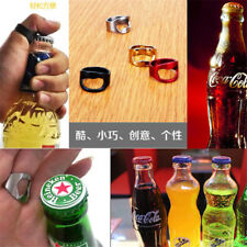 Ring shaped Bottle Opener Creative Versatile Stainless Steel Finger Ring