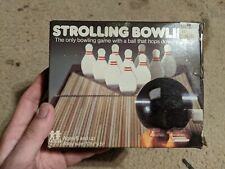 Vintage Strolling Bowling Game In Box