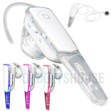 Écouteurs blancs avec contrôle du volume bluetooth sans fil
